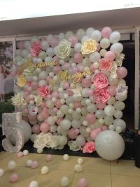 Best 25+ Balloon backdrop ideas only on Pinterest ...