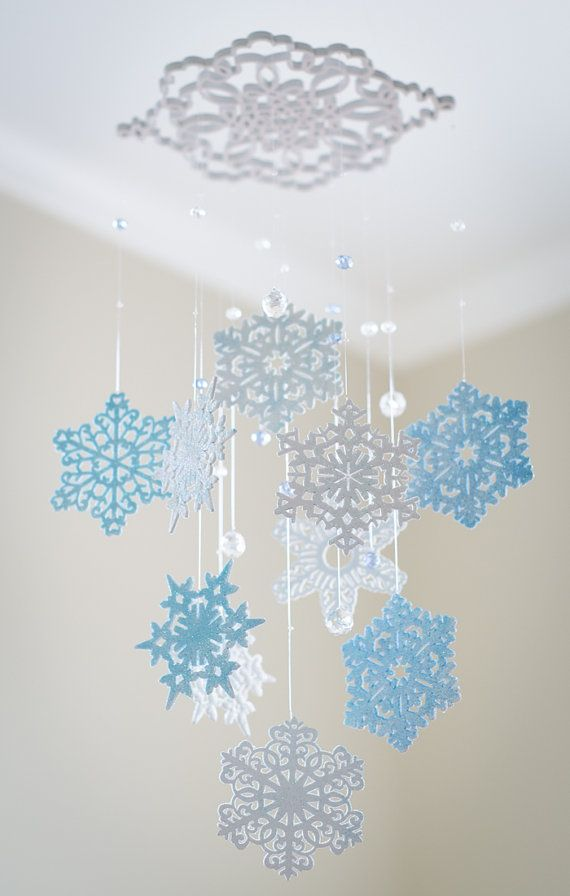 I like the crystals and the large snowflake from which it hangs.  @Jenny Dorf