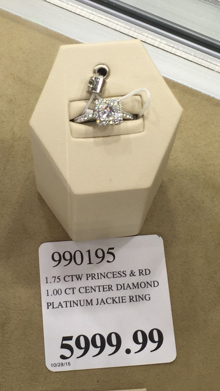 Costco Princess Cut Ring Zoom Engagement Rings