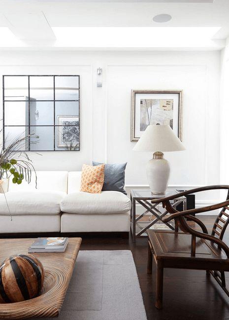 Best 25 Mirror Above Couch Ideas On Pinterest