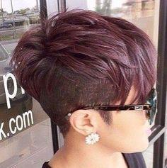 Die Besten 25 Undercut Frisuren Damen Ideen Auf Pinterest