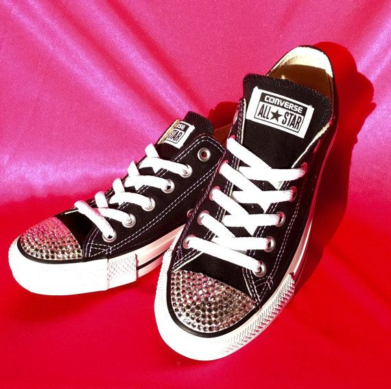 25 Best Ideas about Bedazzled Converse on Pinterest
