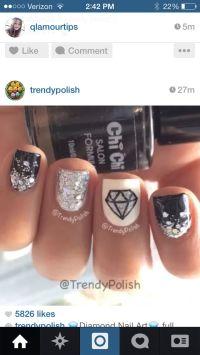 1000+ ideas about Diamond Nail Designs on Pinterest ...