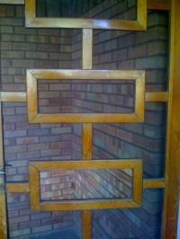 Modern screen door | Doors | Pinterest | Mid-century ...