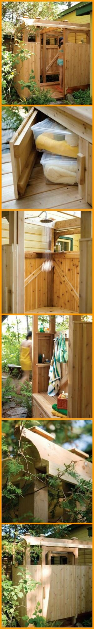 36 Best Images About Outdoor Showers On Pinterest