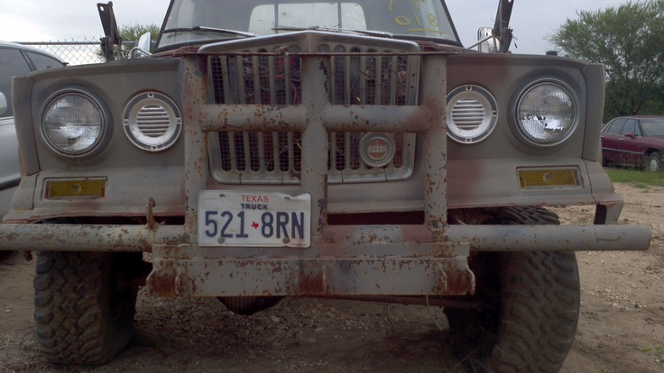 Wiring Diagram 1963 Jeep J300 Gladiator Truck Build Pinterest