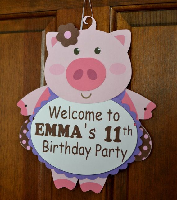 1000+ ideas about Pig Decorations on Pinterest