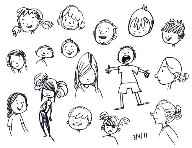 87 Cute Doodle Lettering Alphabet