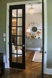 Best 25+ Black French Doors ideas on Pinterest   Kitchen ...
