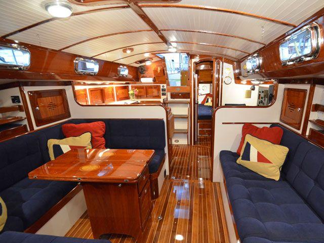 78 Best Ideas About Sailboat Interior On Pinterest