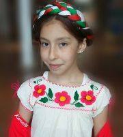 milk braid with ribbon mexican