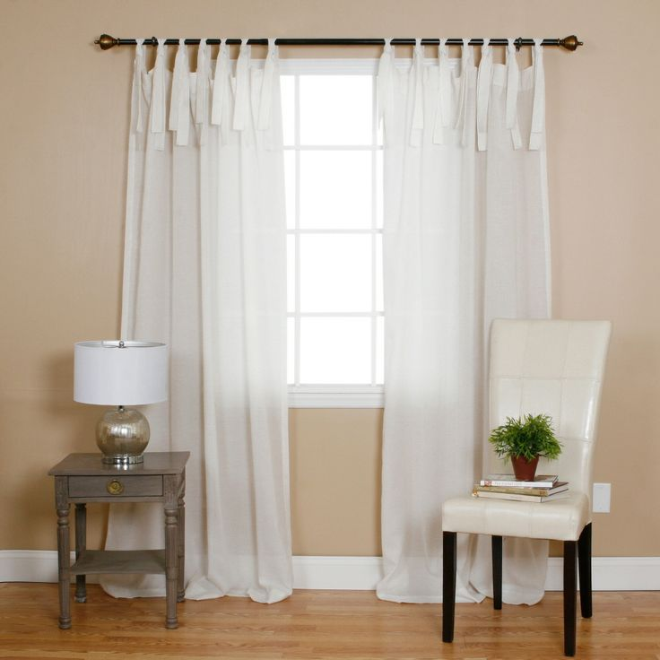 17 Best images about White Curtains on Pinterest  Ruffle trim Curtains for bedroom and
