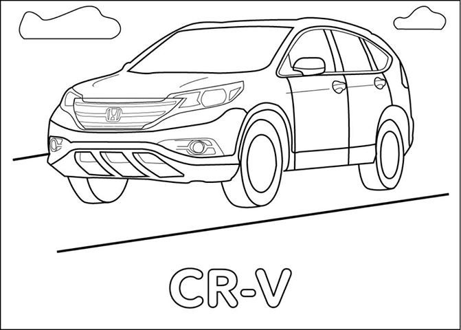 Honda, Coloring and Coloring pages on Pinterest