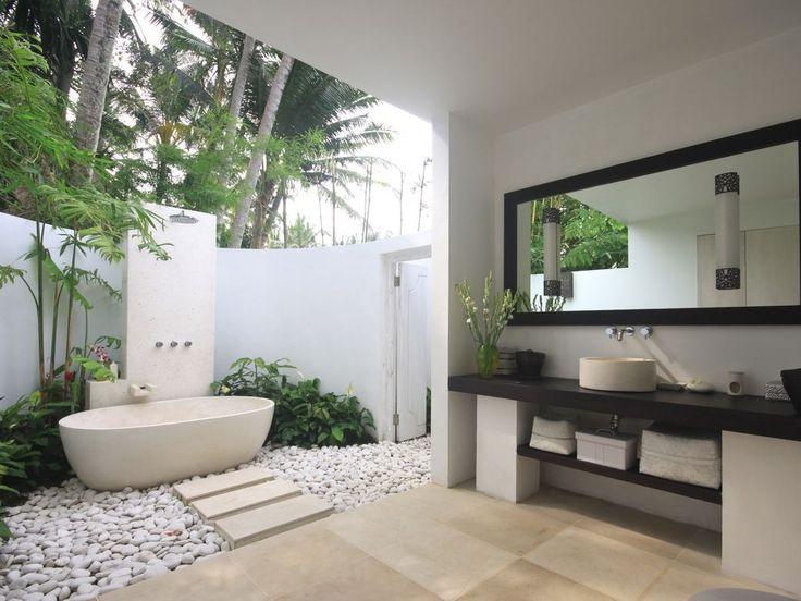 17 Best ideas about Indoor Outdoor Bathroom on Pinterest
