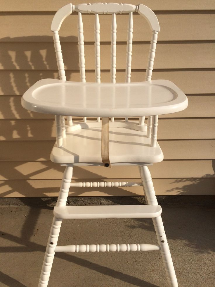 10 Best ideas about Painted High Chairs on Pinterest
