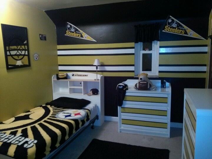 Steelers Boys Room Love The Steelers Pinterest