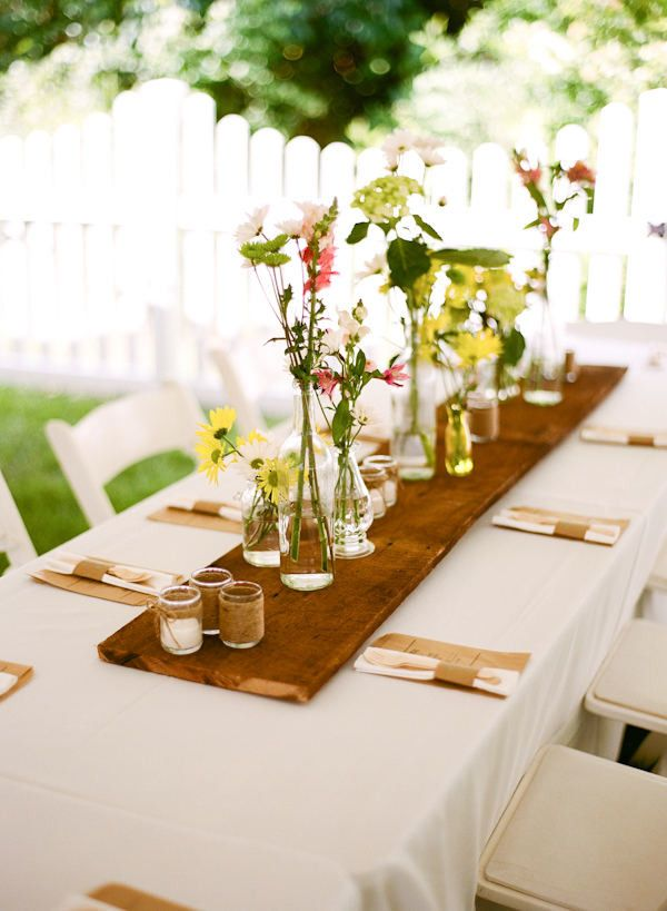 25 best ideas about Rectangle table centerpieces on Pinterest  Rectangle wedding tables