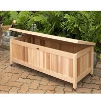 Cedar Deck Storage Box Plans - WoodWorking Projects & Plans