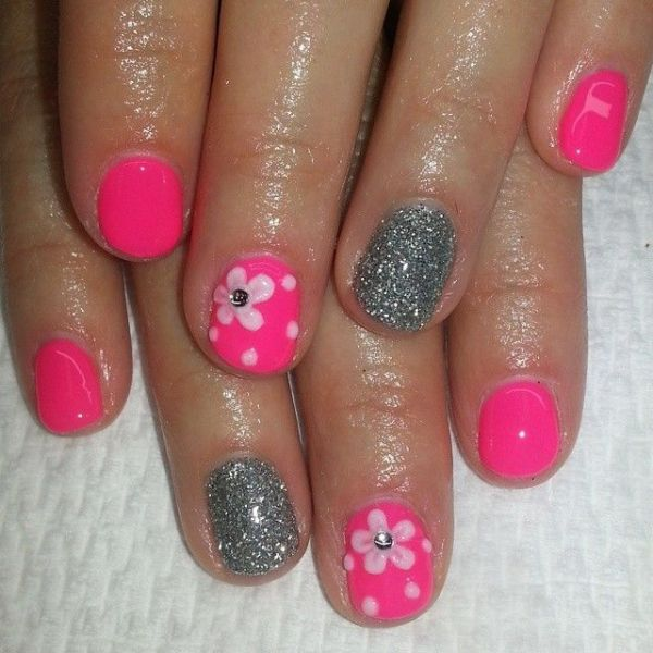 1000 ideas about Pink Shellac Nails on Pinterest