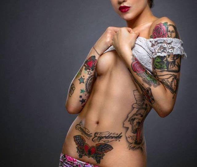 Naked Girl Tattoo Porn