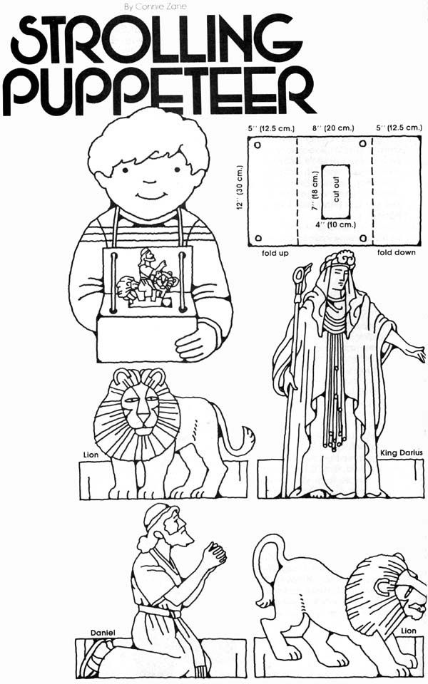 Moses Paper Bag Puppets