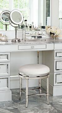 25+ best ideas about Vanity Stool on Pinterest | Diy stool ...