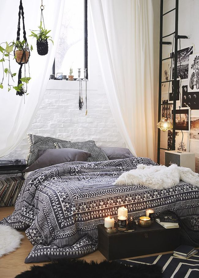 Bohemian Bedroom Ideas Quarto Boho Hippie