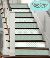 25+ best ideas about Stair risers on Pinterest