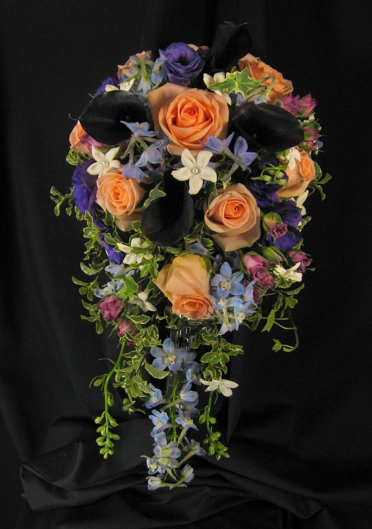 1000 Images About Cascading Or Trailing Bouquets On Pinterest