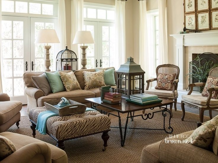 Blue And Brown Living Room 20 Blue And Brown Living Room Designs Decorating Ideas Living Room