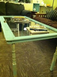 15 Must-see Window Coffee Tables Pins | Diy wood projects ...