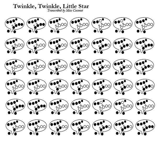 Ocarina (12): Twinkle, Twinkle, Little Star by miss