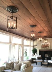 25+ best Wood plank ceiling ideas on Pinterest
