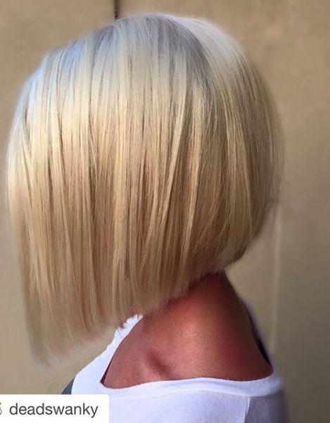 Die 25 besten Ideen zu Couleur blonde platine auf Pinterest  platinblonde Haare Platin Bob