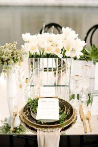 25+ Best Ideas about Mirror Wedding Centerpieces on