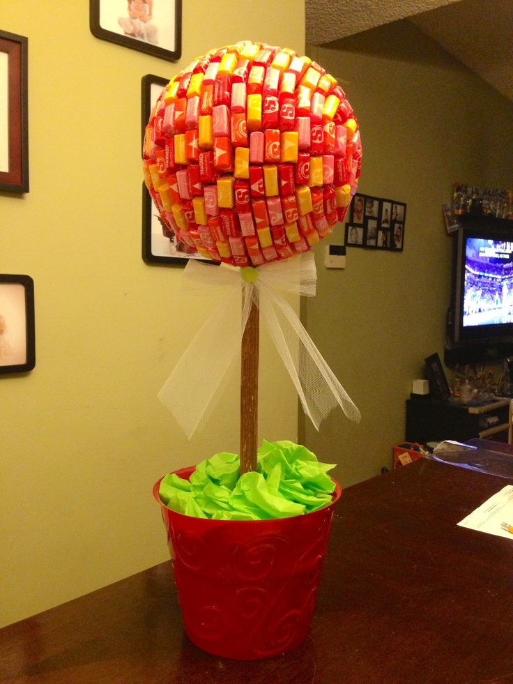 Starburst Topiary Candy Babyshower Decorations Party