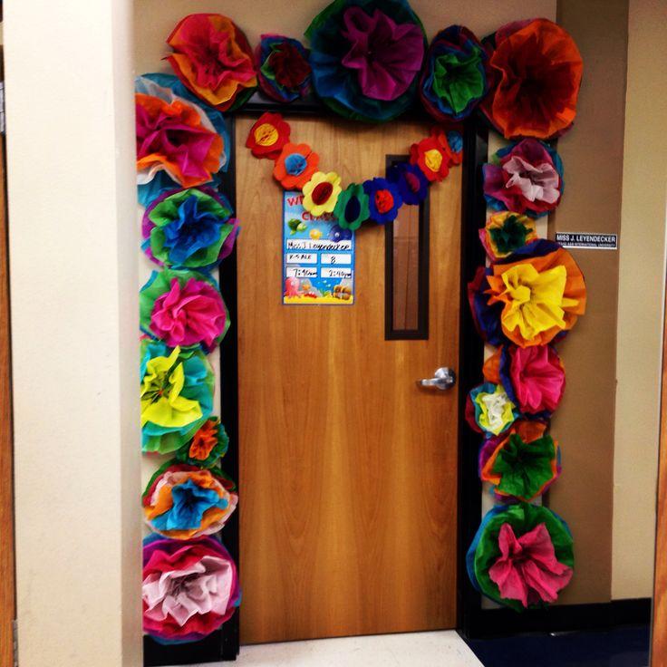 My FiestaSpring Classroom Door Decor  Festive