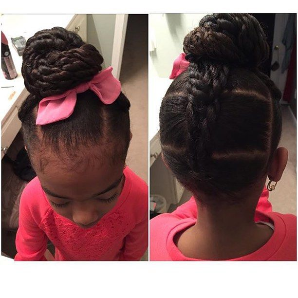 Teaching Little Black Girls To Show Their Hair Love & Care