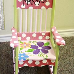 Personalized Rocking Chair For Toddlers Office Max Hard Floor Mat 3795 Best Images About Painted Furniture On Pinterest | Chairs, Hand ...