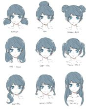 anime hair ideas