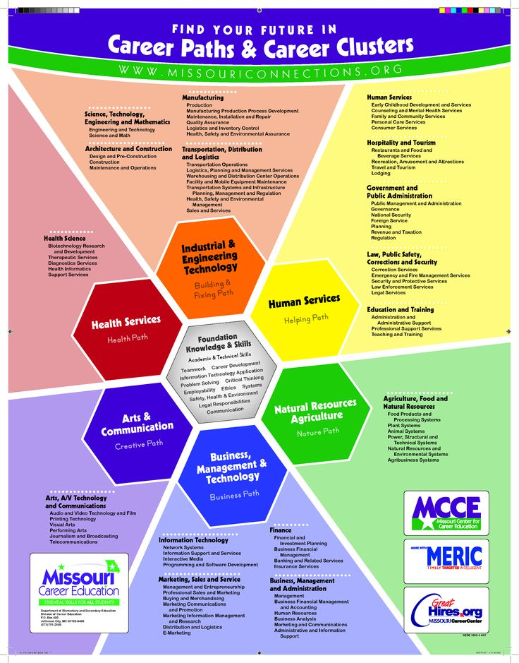 Career Clusters Poster On Pinterest Discover The Best