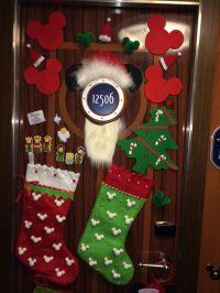 Disney cruise Christmas door decorations | My Disney ...