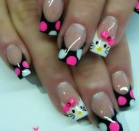 33 best images about Hello Kitty Nails on Pinterest ...