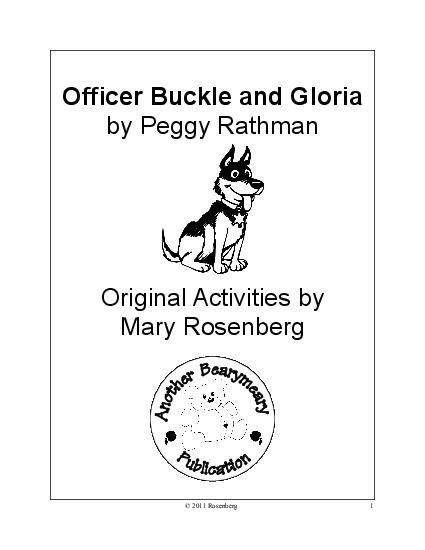 11 best images about Officer Buckle & Gloria on Pinterest