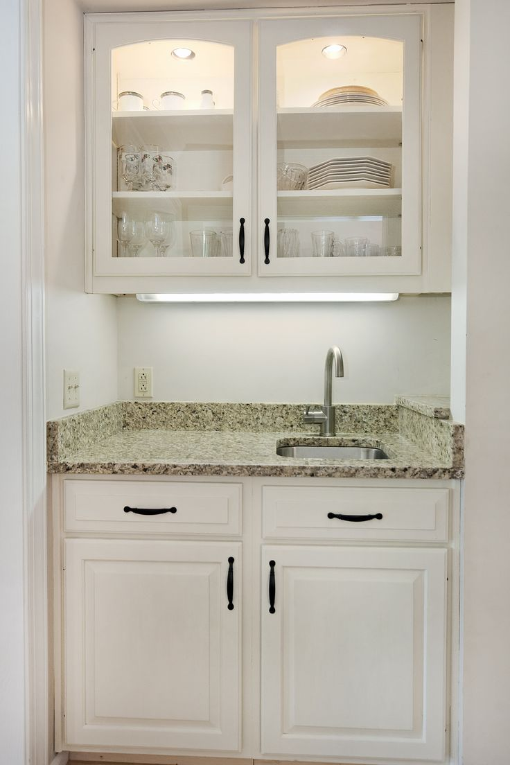 Great idea how to tuck a wet bar into a small space or closet Charlottesville Va  The Savage