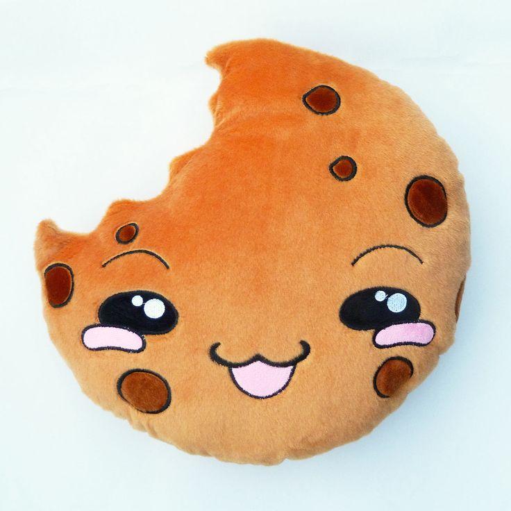 moodrush  COOKIE Pillow Emoji Plush Smiley Shop  Pillow