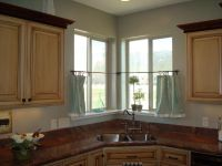 1000+ ideas about Corner Window Curtains on Pinterest ...