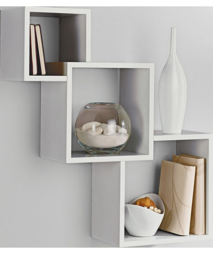 17 Best ideas about Wall Mounted Shelves on Pinterest