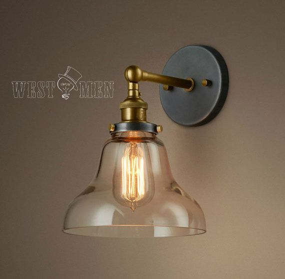 25+ best ideas about Industrial Wall Lights on Pinterest