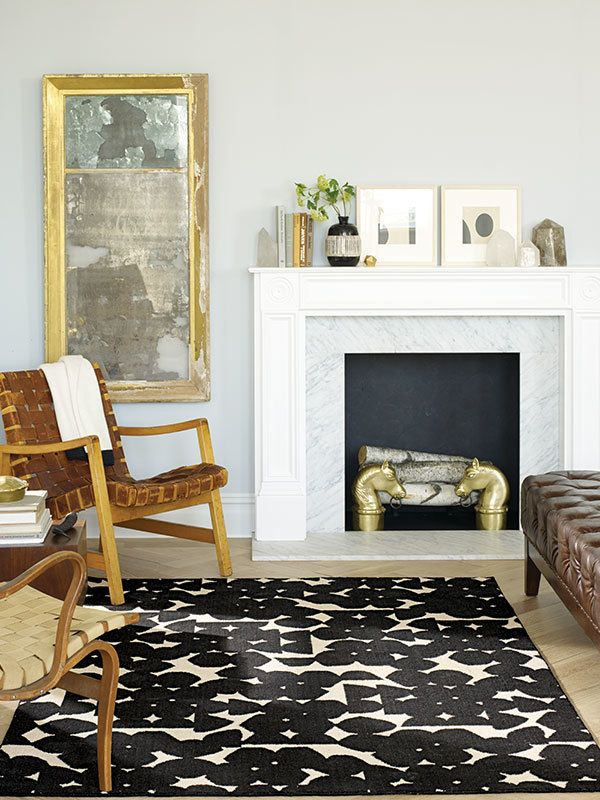 best furniture for small living rooms interior design oriental the modern, sophisticated style of this nate berkus rug is ...
